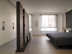 201877平米简约小户型卧室装修设计效果图片