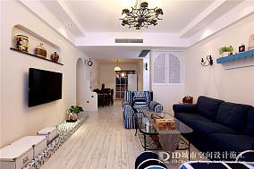 地中海风格家居客厅装修效果图