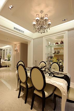 精美99平米三居餐厅欧式装修图片欣赏