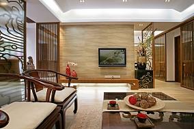 精美136平米中式别墅休闲区装饰图