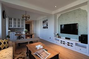 精美面积71平美式二居休闲区装修设计效果图片欣赏