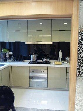 热门77平米现代小户型厨房实景图