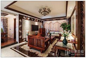 中式风格家居客厅装修效果图大全