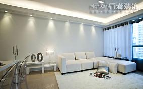 精选面积74平小户型客厅简约装修图片欣赏