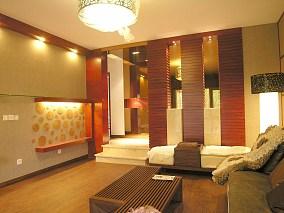 精选复式客厅现代装修实景图片
