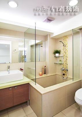 热门宜家小户型卫生间装修设计效果图片