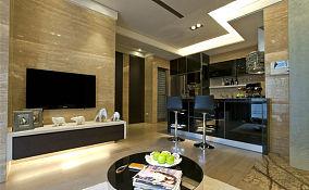热门71平米现代小户型休闲区装修设计效果图