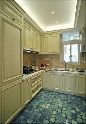热门89平米欧式小户型厨房装修图片大全