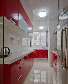 2018面积74平小户型厨房现代装饰图片