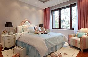 精选109平方三居卧室欧式设计效果图