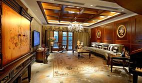 面积86平小户型客厅欧式装修图片