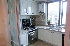 热门面积71平小户型厨房欧式实景图
