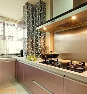 热门77平米现代小户型厨房欣赏图片