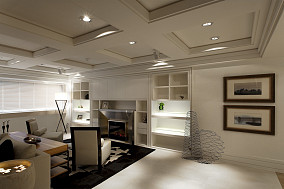 现代家装室内吊顶装修效果图