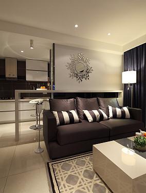2018一居休闲区现代装修设计效果图