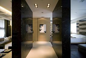现代风格豪华室内隔断墙装修效果图