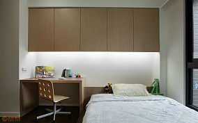 精美简约小户型儿童房实景图片