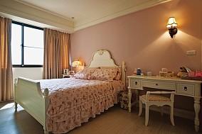 热门美式三居卧室效果图
