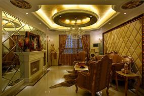 精选面积73平小户型客厅欧式装修设计效果图片欣赏
