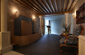 精美77平米欧式小户型休闲区装修设计效果图