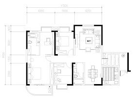 热门81平米欧式小户型休闲区设计效果图