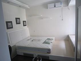 2018精选76平米简约小户型卧室装修效果图片大全