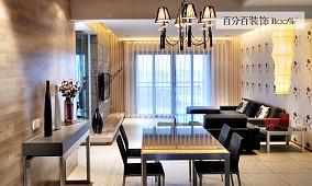 现代室内客厅电视背景墙装修效果图片大全