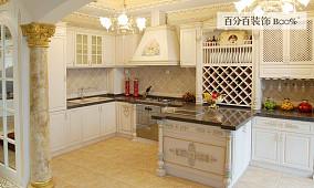 精美小户型厨房欧式装修效果图片大全