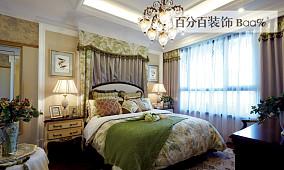 面积82平小户型卧室田园装修欣赏图片大全