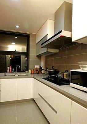 现代简约厨房装修图片大全