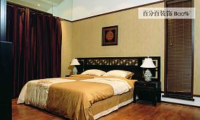 现代中式风格卧室装修图片大全