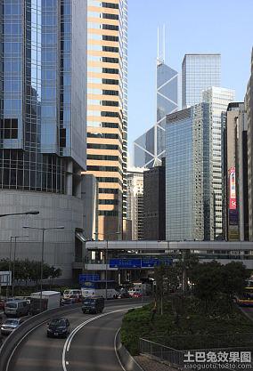 中环大厦街景图