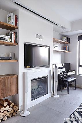 北欧风格电视墙装修图片大全