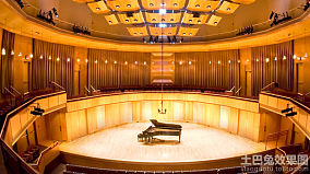 西安音乐厅内部装修效果图