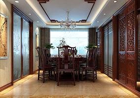 精美中式四居装修图