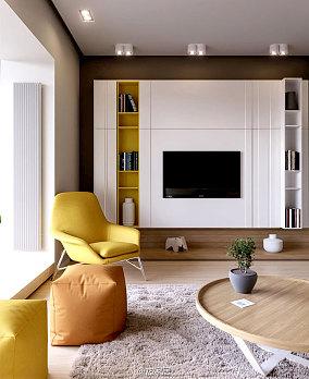 2018精选面积73平公寓现代装修图片大全