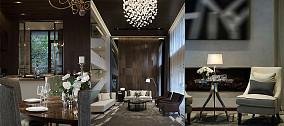 2018精选109平米三居客厅现代装修图