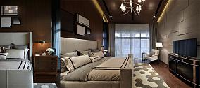 2018面积93平现代三居卧室实景图片