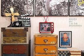 欧式风格温馨照片墙效果图