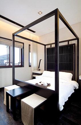 简调的日式风格卧室效果图
