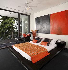 迷人风情东南亚风格卧室设计图