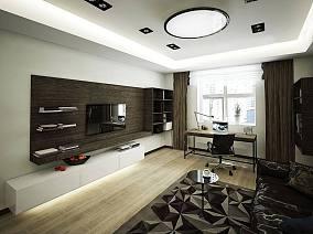 精选巴洛克小户型客厅装修设计效果图