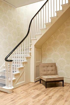 折行式楼梯效果图