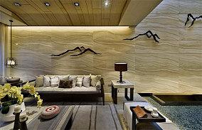融入中国文化思想的中式风格背景墙效果图