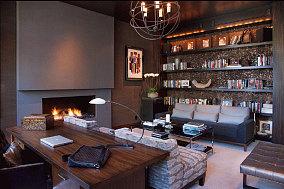 精美113平米美式别墅装饰图片欣赏