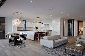 现代四居客厅效果图