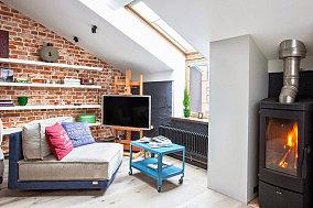 40平米一居室家装客厅效果图