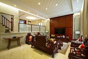 2018124平米中式别墅装修欣赏图