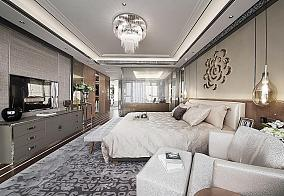 新古典二居室家装卧室效果图