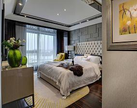 细腻的新古典风格卧室效果图